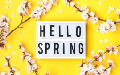 Genieten van de lente; erop uit!