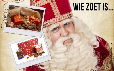 Bestel nu je Sinterklaasgeschenken, want wie zoet is …